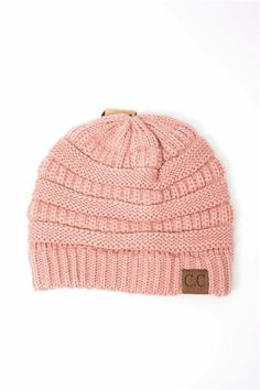 1a762766182 CC Slouchy Knit Beanies Multiple Colors
