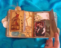 Scrapbooking is Cheaper than Therapy...: Steampunk Family Paper Bag Scrapbook