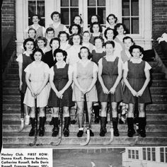 1949 women's field hockey team. ©University of Oregon Libraries - Special Collections and University Archives