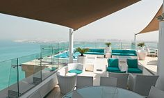 Pure Sky Lounge, Hilton Dubai Jumeirah Residences, The Walk, JBR (04 374 7888).