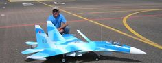 RC Jet Model SUKHOI - Kit designed by Eric Rantet