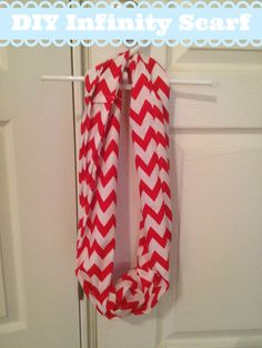 I love infinity scarves. I had a lot of leftover fabric from the Jumper Dress that I made, so I decided to use that to make an infinity scarf. Here is how I did it.