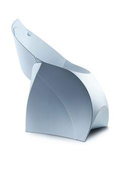 Fluxchair. Design :  Tom Schouten and Douwe Jacobs #decoration #homedecor #home  #pastel #blue #chair