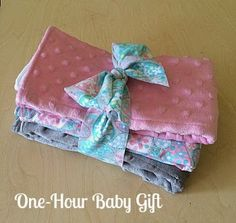 My Quilt Infatuation: One-Hour Baby Gift