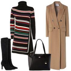 0944e627174d Il cappotto cammello  outfit donna Basic per tutti i giorni