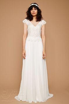 765b369299ee Νυφικό ZETTERBERG COUTOURE Bridal Ivory Cap Sleeves