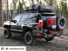 Sick fully decked out ・・・ spot for the night. Camp is set fire is going. Great clearing for some ISS spotting early in. Black Rhino Wheels, Lexus Gx 460, Toyota Land Cruiser 100, Used Lexus, Suv Camper, Lexus Models, Toyota 4x4, Lexus Cars, Off Road
