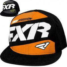 508c6a80fd4ed FXR Podium Mens Snapback Guys Caps Snowmobile Flat Bill Hats Flat Bill Hats