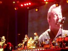 ▶ Bruce Springsteen - Rosalita , Come Out Tonight (live @ Napoli 23.05.2013) - YouTube...Mine and Justin's concert