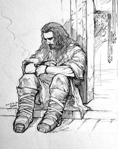 'Kili should stay here'  Thorin Oakenshield - Insomnia (7)(1),  (2), (3), (4), (5), (6)