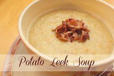 Potato Leek Soup | www.familyfoodandtravel.com