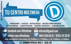 DIF, C.A. ,Publicidad, Diseño Gráfico y Audiovisual, Fotografía. en acarigua- araure estado portuguesa