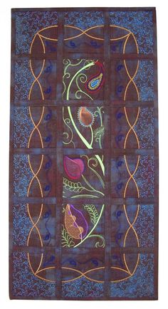 FREE pattern: Vines on the Wall (from HoopSisters)