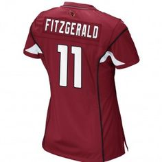 Arizona Cardinals 101 Holiday Gift Ideas:  Arizona Cardinals Womens Game Jersey Larry Fitzgerald WR #11. $115.00