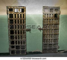 Cell Doors of a womans prison · Old Idaho Prison
