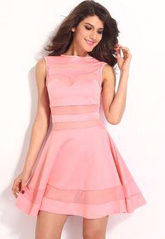 Růžové šaty do společnosti - DAMSON - Večerní šaty a koktejlové šaty -  i-moda dfc4ed59710