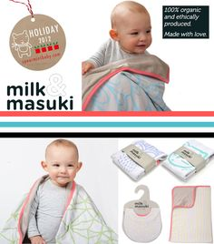 Milk & Masuki blankets