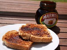 Marmite on toast I grew up on this stuff and still enjoy it.