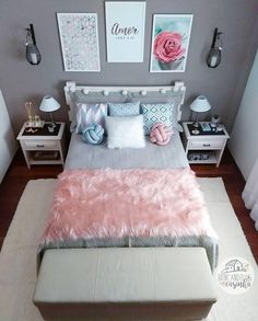 157 cozy teen girl bedroom design trends for 2019 58 Small Room Bedroom, Room Decor Bedroom, Modern Bedroom, Girls Bedroom, Unique Teen Bedrooms, Bedroom Ideas For Small Rooms For Teens For Girls, Teen Bedroom Furniture, Teen Girl Bedrooms, Bedroom Colors