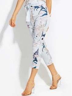 523d706a9d Big Discount for Best Sellers Back In Stock Promotion Sales Online. Casual  PantsWomen s CasualSpringFloral LaceLace UpPants ...