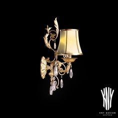 An eye for detail - This wall light is made of 24 carat gold und Swarovski crystals. We use top ornaments and highest quality materials for all of our creations. We plan, design and install high quality solutions for lighting design – since 1956. www.kny-design.com Wall Lamps, Wall Lights, Eye For Detail, Carat Gold, Plan Design, Lighting Design, Swarovski Crystals, Sconces, Ornaments