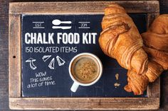 Check out 150 Isolated Food Chalk Kit by mousemade on Creative Market
