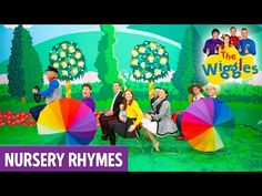 """Enjoy 'Wheels On The Bus', from """"The Wiggles Nursery Rhymes!"""" """"The Wiggles Nursery Rhymes!"""" includes your favourite nursery rhymes performed by The Wiggles, . Baby Learning Activities, Nanny Activities, Activities For 1 Year Olds, Infant Activities, Songs For Toddlers, Kids Songs, Best Children Songs, Earth Day Drawing, Baby Language"""