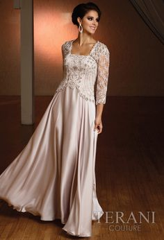 My Favorite MOB!! Terani Couture - Evening Dresses, 2012 Prom Dresses, Homecoming Dresses, Mother of the Bride - comes in light silver or dark purple