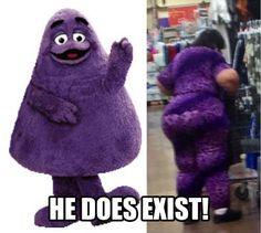 Purple Monster is real!