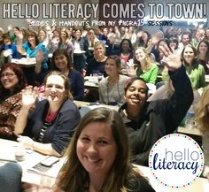 Hello Literacy Blog Post with link to all of her sessions and handouts from the North Carolina Reading Conference, March 2015.