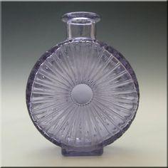 Riihimaki/Riihimaen Glass Helena Tynell 'Aurinkopullo' Sun Vase - £100.00