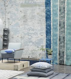 Rustic Living   Mapuche Fabric by Designers Guild   Jane Clayton