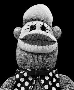 arnes svenson - sock monkey series