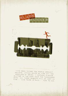 Stampa Artistica Professionale Nuovo Poster Artistico Blade Runner Poster 13 x 18 cm