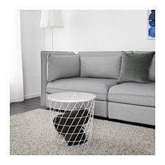 kvistbro tavolino contenitore bianco ikea e tavolo. Black Bedroom Furniture Sets. Home Design Ideas