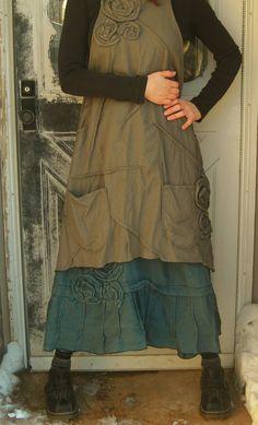 RESERVED for bedorah Blue Linen Short by sarahclemensclothing