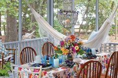 Throw a Back Porch Gathering #SouthernLadyMag