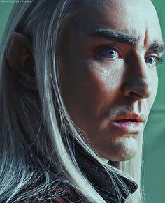 Lee pace as Thranduil, King of Mirkwood