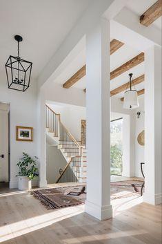 Dream Home Design, My Dream Home, Home Interior Design, House Design, Interior Colors, Simple Home Design, Home Inside Design, Staircase Interior Design, White House Interior