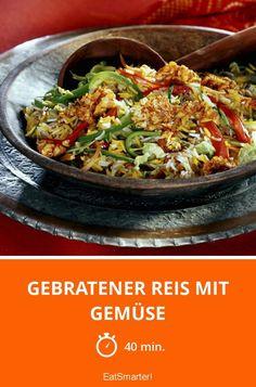 Gebratener Reis mit Gemüse - smarter - Zeit: 40 Min. | eatsmarter.de