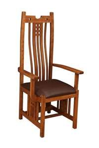 Amish Apache Mission Chair | Amish Furniture by Countryside