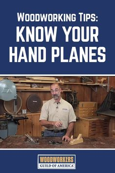 There are many different styles and shapes of hand planes, so it is important to know how to optimize your use of each type when completing your woodworking projects. Master woodworker George Vondriska discusses when to use a scrub plane, smooth plane, and block plane. #woodworkingtips  #WoodworkingProjects