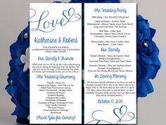 Free wedding program templates | Free Wedding Program Template ...