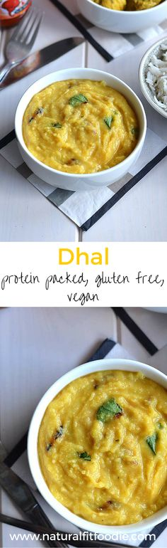 Dhal Recipe - Dhal is a rich source of protein and fibre as well as folate and iron. This delicious dhal dish comes together really quickly and can be served on its own with flatbread or as part of a larger meal.