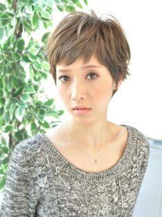Asian Style Pixie Hair