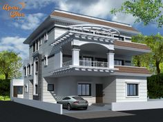 5 Bedrooms Bungalow House Design in 360m2 (15m X 24m).Click here :(http://www.apnaghar.co.in/pre-design-house-plan-ag-page-63.aspx)  to view free floor plans (naksha) and other specifications for this design. You may be asked to signup and login. Website: www.apnaghar.co.in, Toll-Free No.- 1800-102-9440, Email: support@apnaghar.co.in