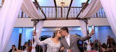O casamento da Myllena e seu jeito especial de jogar o buquê