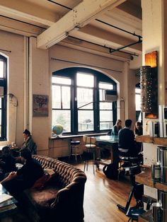 Brooklyn Roasting Company in New York / click to follow me on Instagram for more photos!