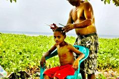 Haircut, East Timor by Ted McDonnell]