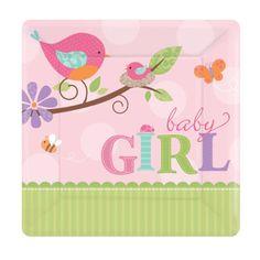 Eckige-Pappteller-My-Baby-Girl-8er-Pack